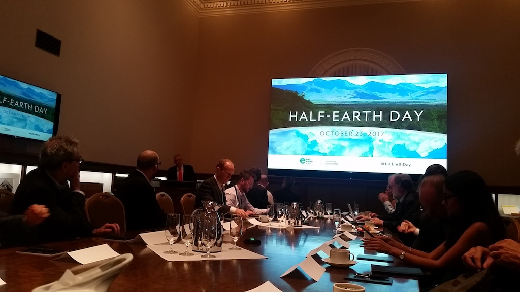 Half Earth day round table